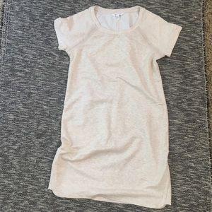Athleta Pacer Short Sleeve Sweatshirt Dress